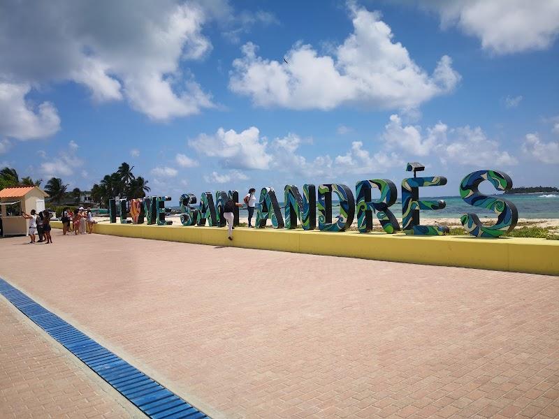 Parador Fotografico - Letras de San Andres Islas -